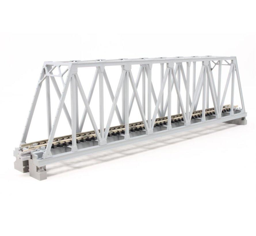 "20432 N 248mm 9-3/4"" Truss Bridge, Gray"