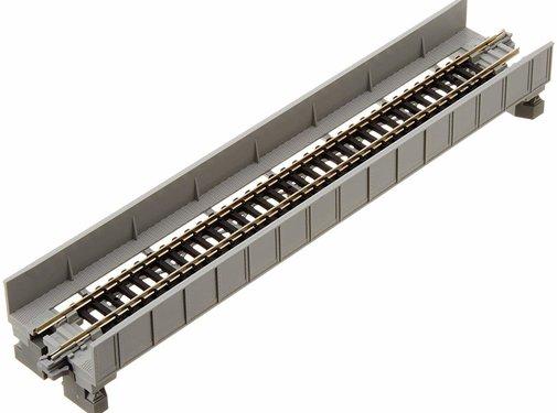 "Kato USA (KAT) 381- 20-452 N 186mm 7-5/16"" Plate Girder Bridge, Gray"