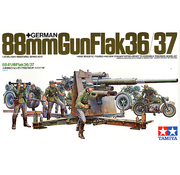 Tamiya (TAM) 865- 35017 German Gun Flak,88mm 1/35