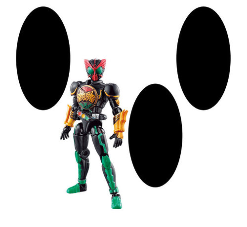"BANDAI MODEL KITS 39352 So Do Kamen Rider OOO Combo Change 1 ""Kamen Rider"" Bandai So Do Chronicle"