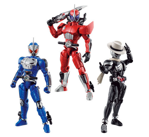 "BANDAI MODEL KITS 39354 So Do Kamen Rider W Unstoppable A / Under the Wall of S ""Kamen Rider"", Bandai So Do Chronicle"