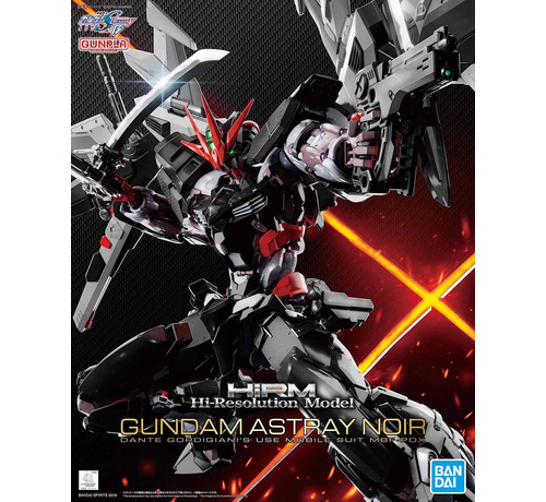 "BANDAI MODEL KITS 5057697 Gundam Astray Noir ""Gundam Astray"", Bandai Hi-Resolution Model 1/100"