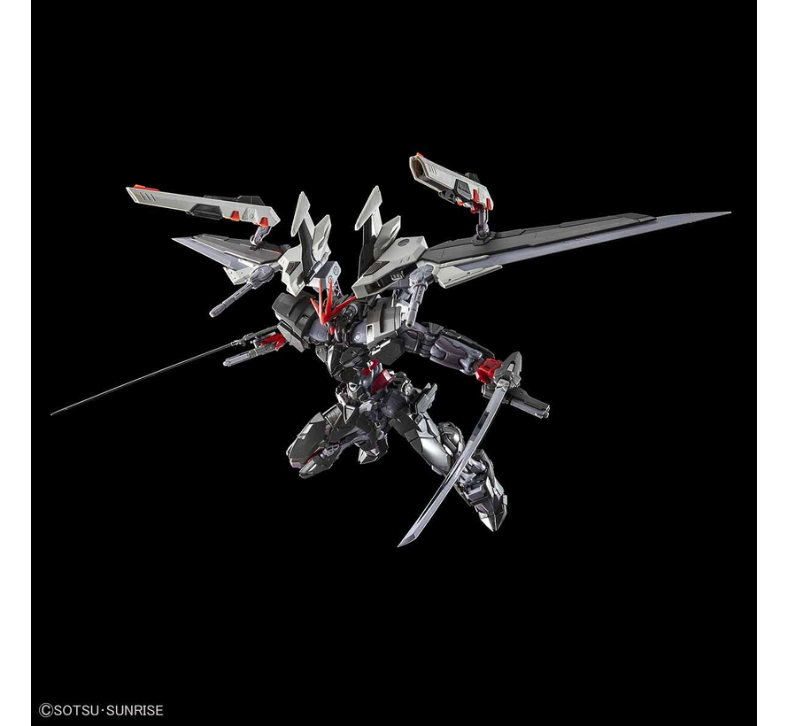 "5057697 Gundam Astray Noir ""Gundam Astray"", Bandai Hi-Resolution Model 1/100"