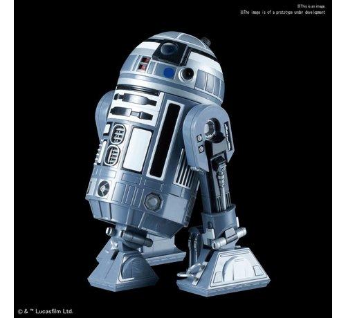 """BANDAI MODEL KITS 5057710 R2-Q2 """"Star Wars"""", Bandai Star Wars Character Line 1/12"""