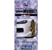 FUJIMI MODELS (FJM) 17inch Yokohama Model 7 Wheel 1/24