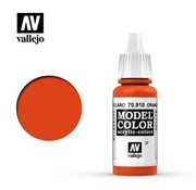VALLEJO ACRYLIC (VLJ) 70910 - ORANGE RED                  17ML