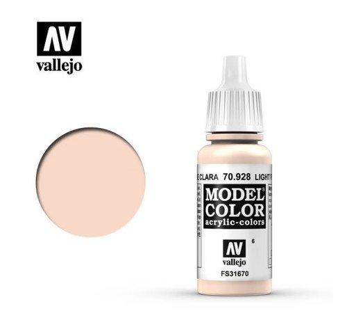 VALLEJO ACRYLIC (VLJ) 70928 - LIGHT FLESH                 17ML