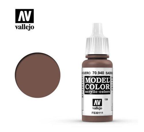 VALLEJO ACRYLIC (VLJ) 70940 - SADDLE BROWN                17ML