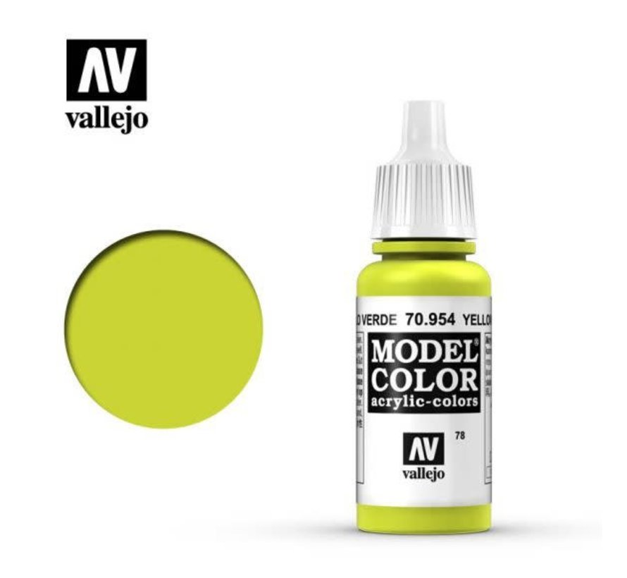 70954 - YELLOW GREEN                17ML