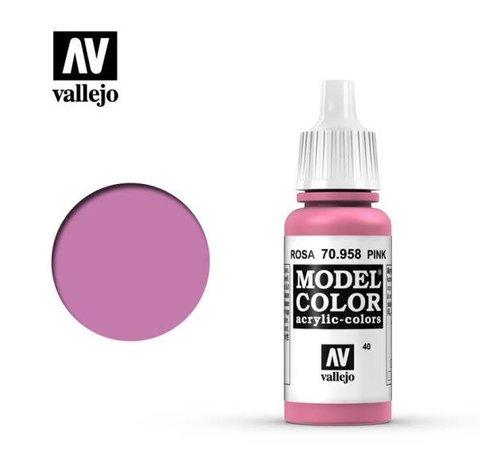 VALLEJO ACRYLIC (VLJ) 70958 - PINK                        17ML