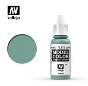 VALLEJO ACRYLIC (VLJ) 70972 - LIGHT GREEN BLUE            17ML