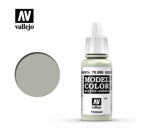 VALLEJO ACRYLIC (VLJ) 70986 - DECK TAN                    17ML