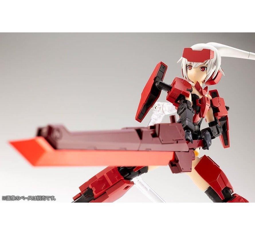 FG061 FRAME ARMS GIRL & JINRAI WEAPON SET  MODEL KIT
