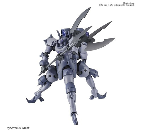 "BANDAI MODEL KITS 5058306  #11 Eldora Brute ""Gundam Build Divers"", Bandai Spirits HGBD 1/144"