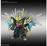 "BANDAI MODEL KITS #29 Tien Ba Cao Cao Wing Gundam ""SD Gundam Sangoku Soketsuden"", Bandai Spirits SD"