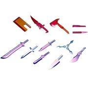Kotobukiya - KBY MSG WEAPON UNIT34 EX KNIFE SPECIAL COLOR