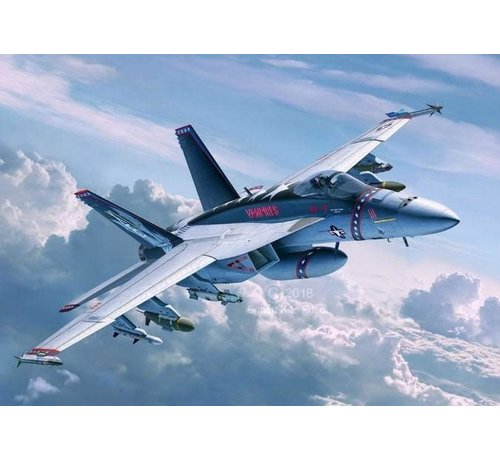 Revell Germany (RVL) 04994 F/A18E Super Hornet Fighter 1/32