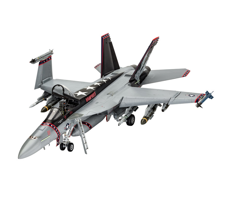 04994 F/A18E Super Hornet Fighter 1/32