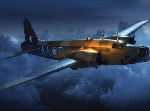 Airfix (ARX) 8019 Vickers Wellington Mk.IA/C 1:72
