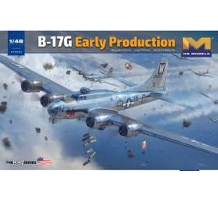 01F001 B-17G Flying Fortress Heavy Bomber from HK Models 1/48