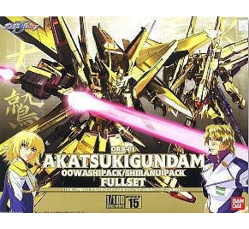 "BANDAI MODEL KITS 5056816 #15 Akatsuki Gundam Oowashi/Shiranui ""Gundam SEED Destiny"" Bandai 1/100 SEED Destiny"