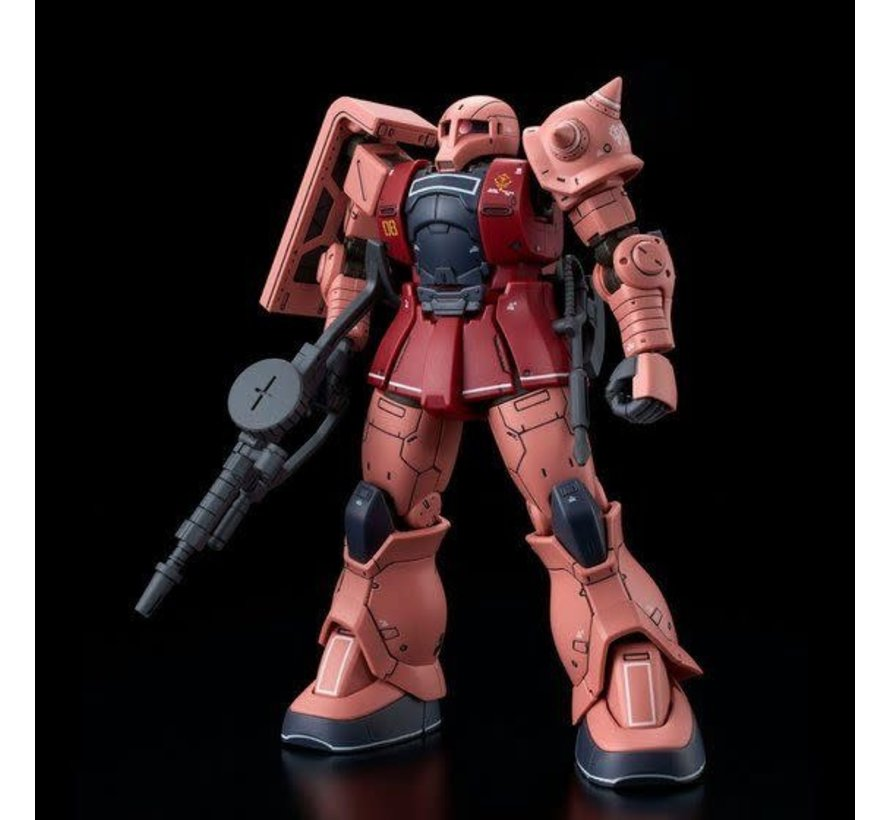 PBAN39 HG 1/144 MS-05S CHAR AZNABLE'S ZAKU Ⅰ (LIMITED MODEL)