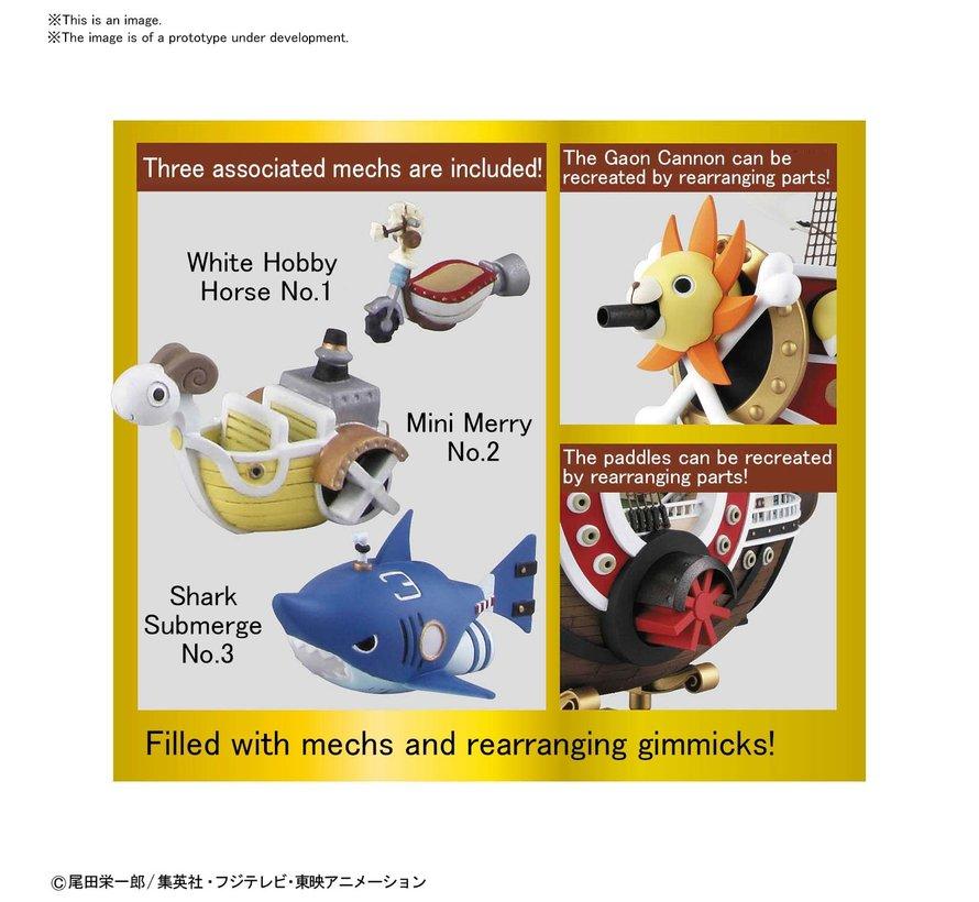 "Thousand Sunny Land Of Wano Ver. ""One Piece"", Bandai Spirits Sailing Ship Collection"