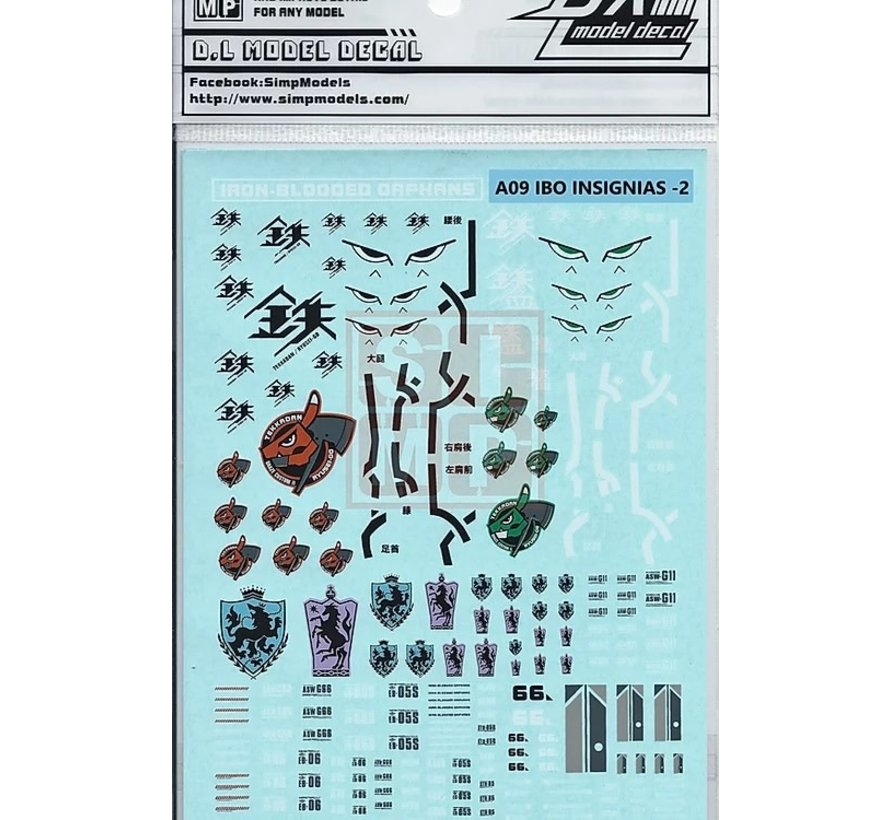 0600A09 General Design Water Decal Iron-Blooded Orphan-2