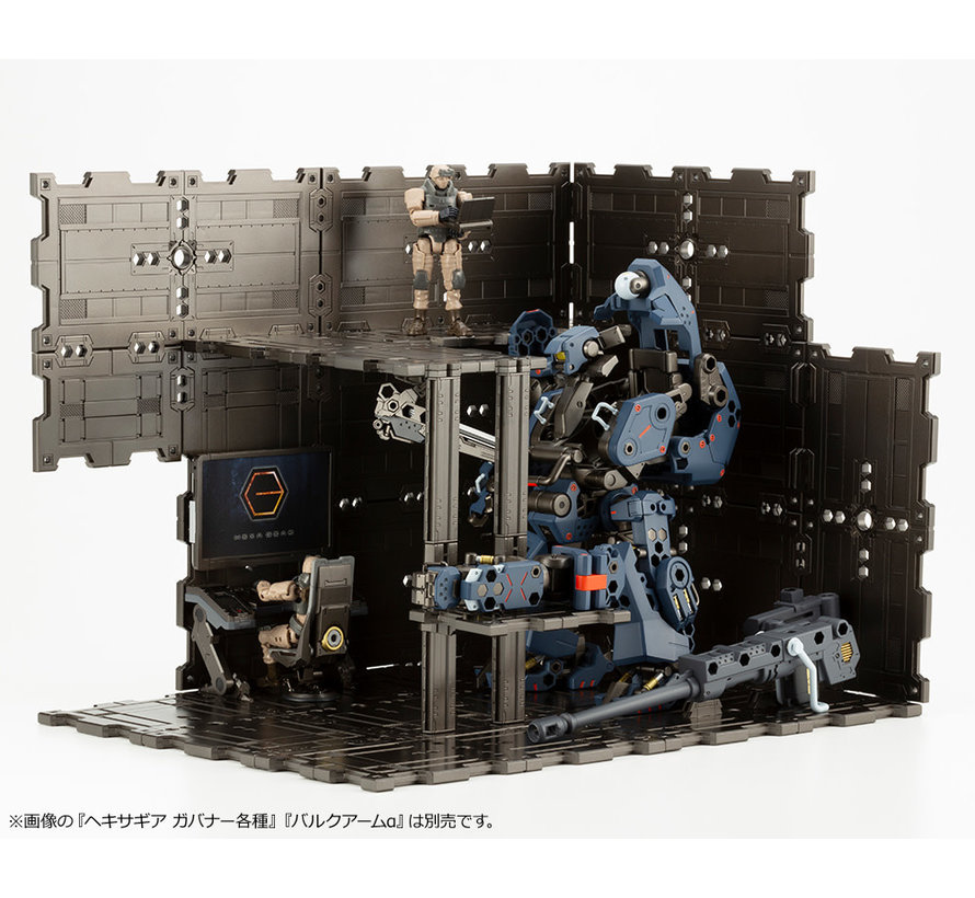 HG060 HEXA GEAR BLOCK BASE 01 DX HEAD QUARTERS
