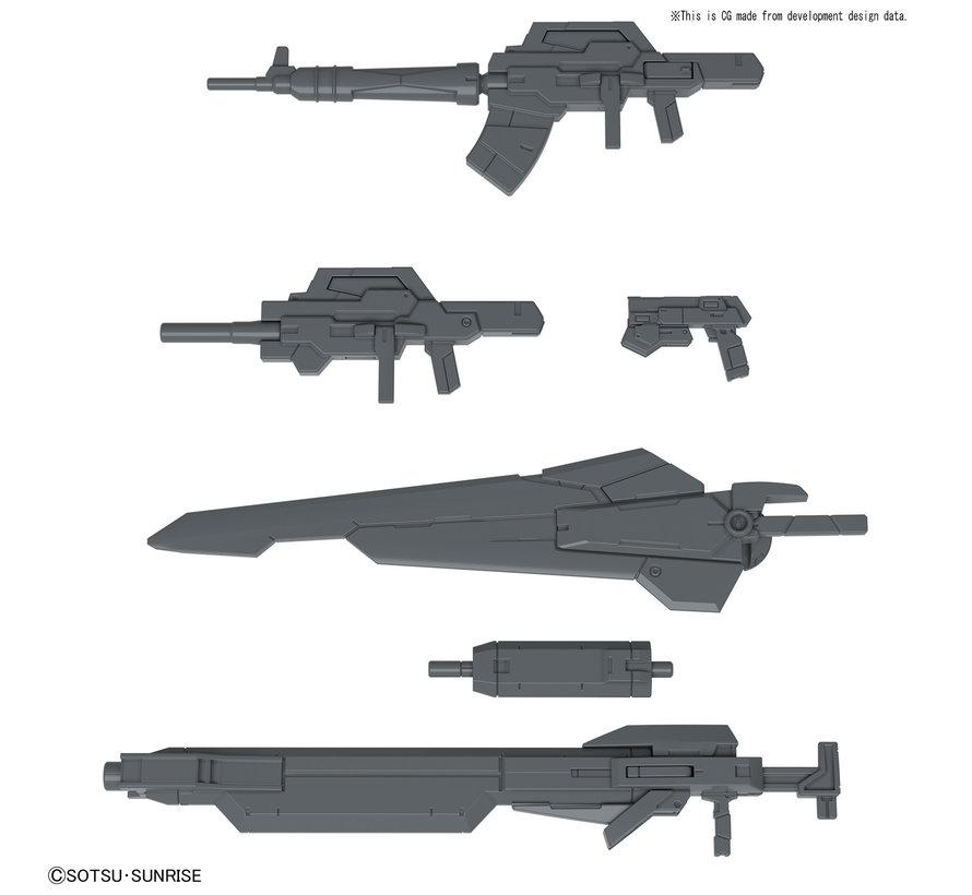 """5058258 24th Century Weapons """"Gundam Build Fighters"""", Bandai HGBC 1/144"""