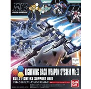 "Bandai Lightning Back Weapon System MK-II ""Gundam Build Fighters Try"", Bandai HGBC"
