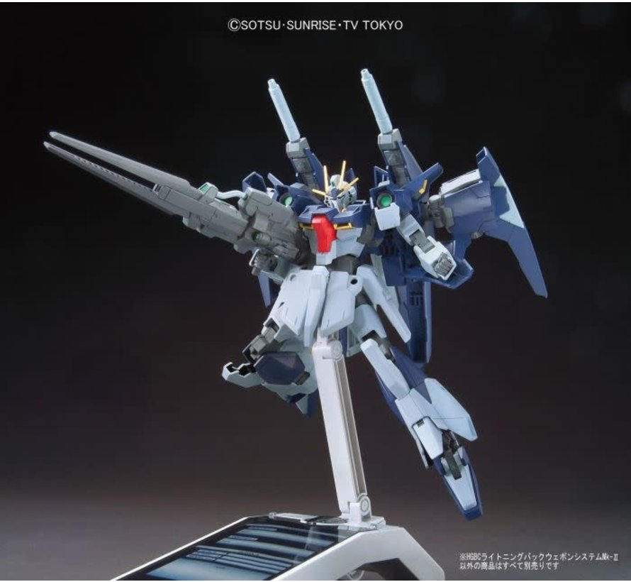 "5055605 #20 Lightning Back Weapon System MK-II ""Gundam Build Fighters Try"", Bandai HGBC"
