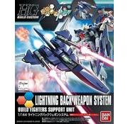 "Bandai Lightning Back Weapon System ""Gundam Build Fighters Try, Bandai HGBC"