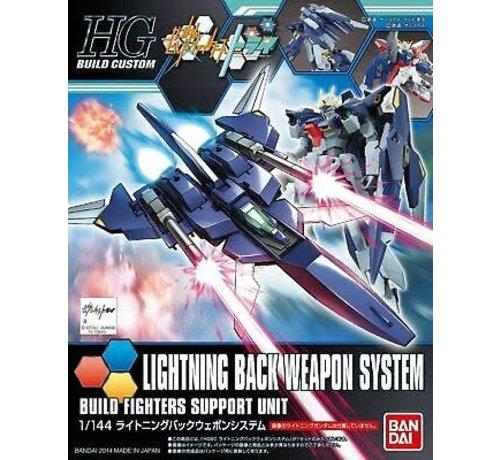 "Bandai 5058810 #15 Lightning Back Weapon System ""Gundam Build Fighters Try, Bandai HGBC"