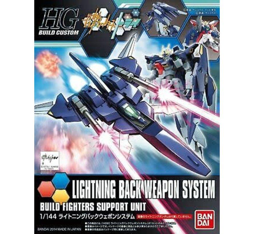 "5058810 #15 Lightning Back Weapon System ""Gundam Build Fighters Try, Bandai HGBC"