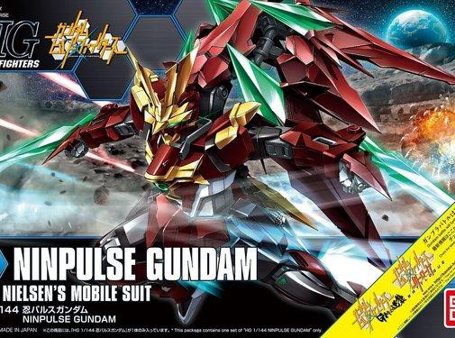 Bandai Ninpulse Gundam HGBF 1/144