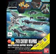 """Bandai 24th Century Weapons """"Gundam Build Fighters"""", Bandai HGBC 1/144"""
