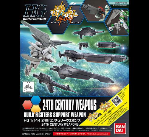 """Bandai 5058258 24th Century Weapons """"Gundam Build Fighters"""", Bandai HGBC 1/144"""