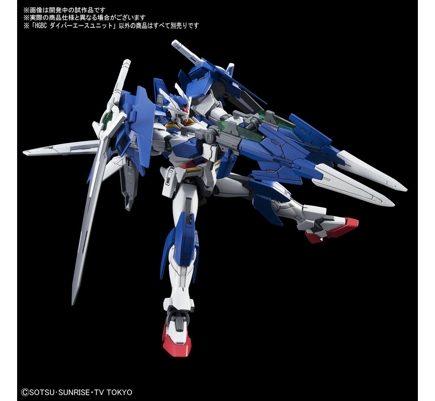 "225746 Diver Ace Unit ""Gundam Build Divers"", Bandai HGBC"