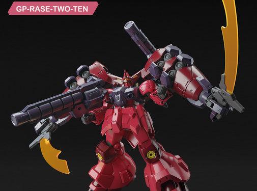 """Bandai Gundam GP-Rase-Two-Ten """"Gundam Build Divers"""", Bandai Spirits HGBD 1/144"""