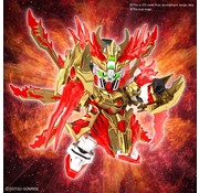 """Bandai Yan Huang Zhang Fei God Gundam """"SD Sangoku Soketsuden"""", Bandai Spirits SD"""