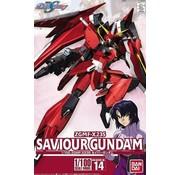 Bandai 5058782 #14 Savior Gundam Gundam Seed Destiny 1/100
