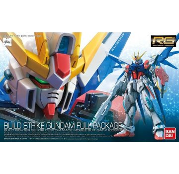 Bandai Build Strike Gundam Full Package