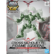 Bandai Cross Silhouette Frame (Green)