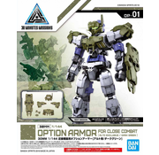 Bandai Close Quarters Battle Option Armor for Alto Dark Green