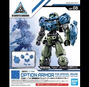 Bandai Special Forces Option Armor for Portanova Light Blue