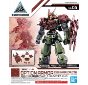 Bandai Close Quarters Combat Option Armor for Portanova Dark Red