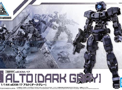 Bandai Alto Dark Gray