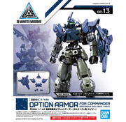 Bandai Option Armor For Commander Type (Portanova Exclusive Navy)