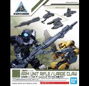 Bandai Arm Unit Rifle/ Large Claw